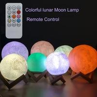 MIFXIN Touch Sensor 3d Night Light Moon Lamp USB Led Lights For Home Lamps Usb Led