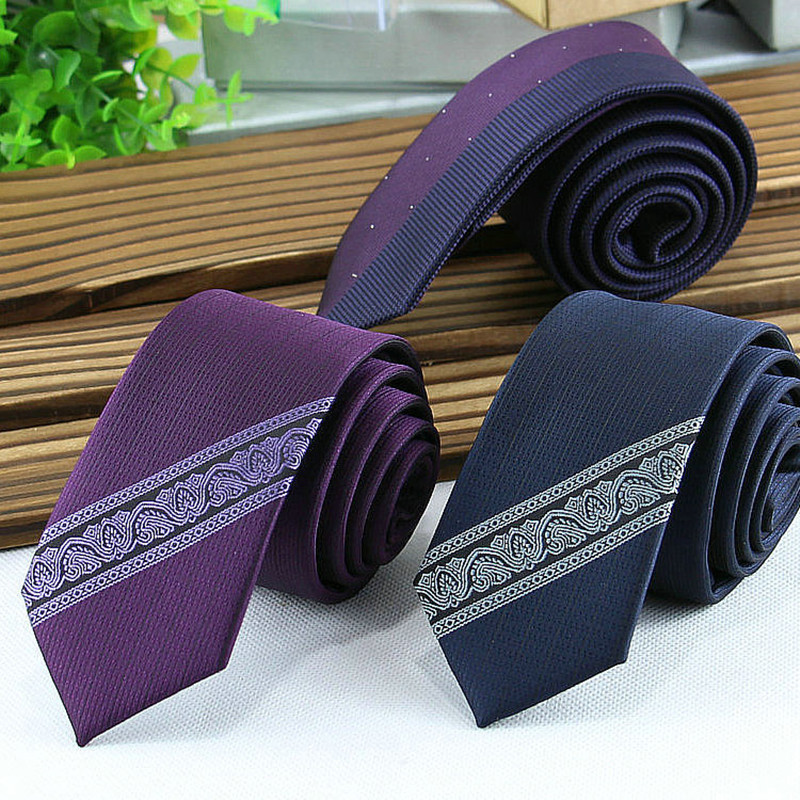 ties for men designers skinny neck tie brand mens fashion gravatas