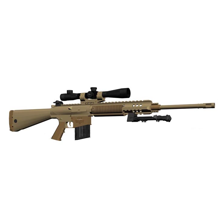 Paper Model 1 1 Scale CS M110 Sniper Rifle Cosplay for Kids Adults Handmade Toy