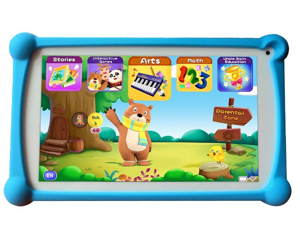 Детский планшет, планшет B. B. PAW 7 дюймов 1G + 8G Android 6,0 с 120 + обучающими приложениями, информация о отслеживании доступна