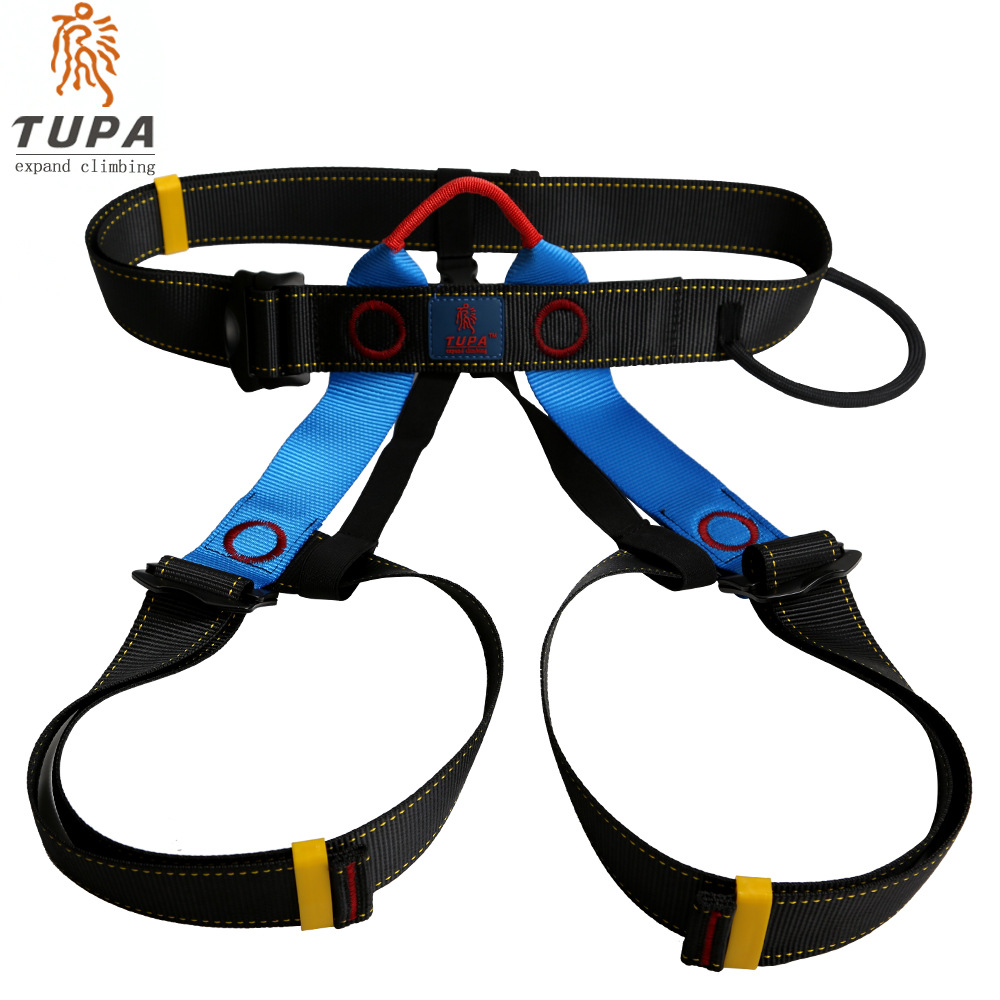 TUPA TP-A9506 Arnés Busto Cinturón de seguridad Arnés para escalada al aire libre Equipo de rappel Arnés Cinturón de seguridad con bolsa de transporte Nuevo