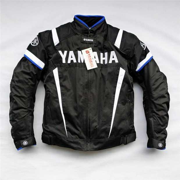 Motorbike Racing Winter Jacket Motorcycle Coat For YAMAHA Team Motocross Race Clothing With Protector benkia motorcycle reflective jersey sports racing jacket winter warm windbreaker with removable hood motocross wind coat