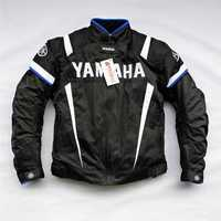 Motorbike Racing Winter Jacket Motorcycle Coat For YAMAHA Team Motocross Race Clothing With Protector