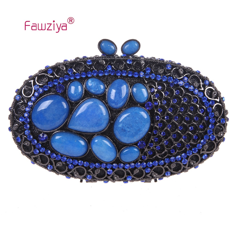 Fawziya Rhinestone Bag Natural Stone Kisslock Purses And Handbags For Womens Bags kisslock chain bag