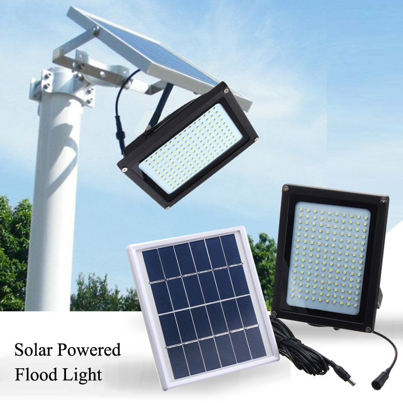 Hot Sale Waterproof Solar Lamps 150 LED Motion Sensor Garden Light Outdoor Solar Powered Light Floodlight