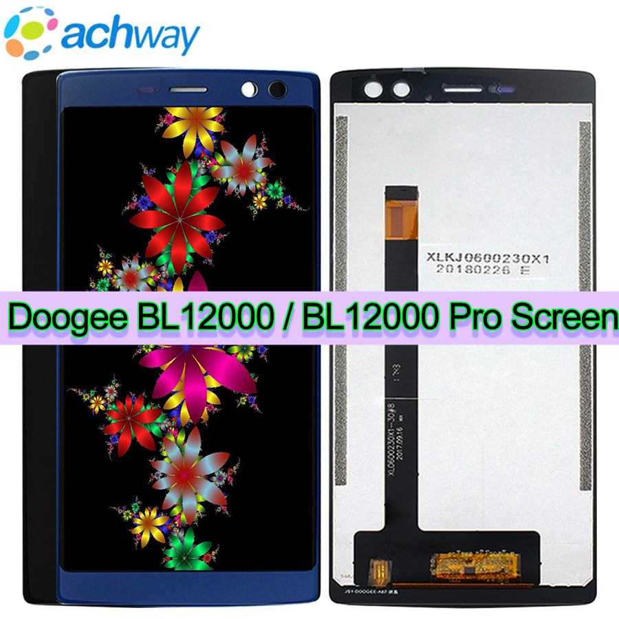 New 6 0 Doogee BL12000 LCD Display Touch Screen Digitizer Assembly bL 12000 Doogee BL12000 Pro