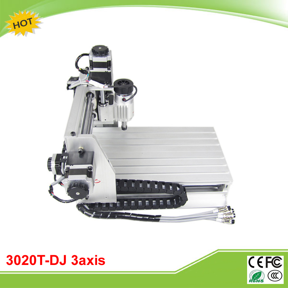 CNC 3020T-DJ mini CNC carving machine engraver free tax to EU metal engraving machine 3040 engraver 800w cnc machine to eu country free tax