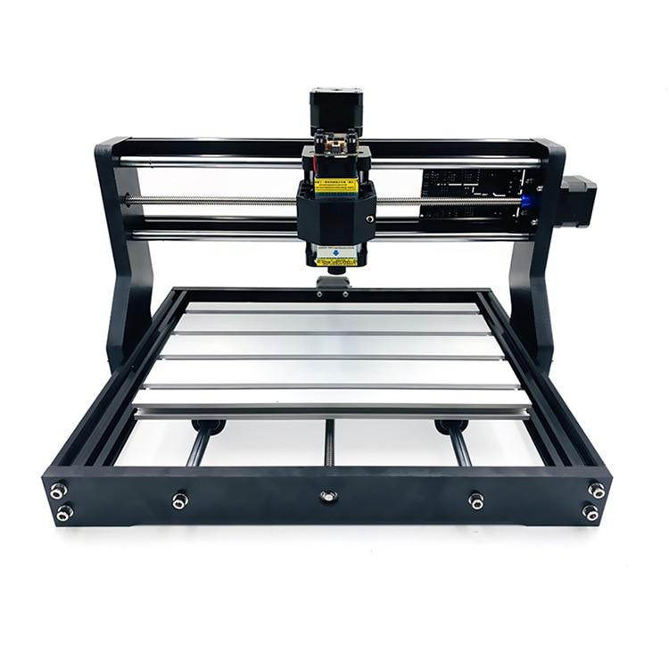 Vente chaude 15 W Mini CNC 3018 PRO Laser routeur Machine graveur GRBL logiciel pour pierre d'acier inoxydable