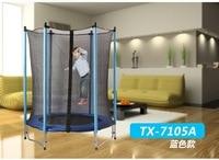 Для детей 55 дюймов безопасный весенний батут гимнастический Батут Отказов кровать с защитной сеткой