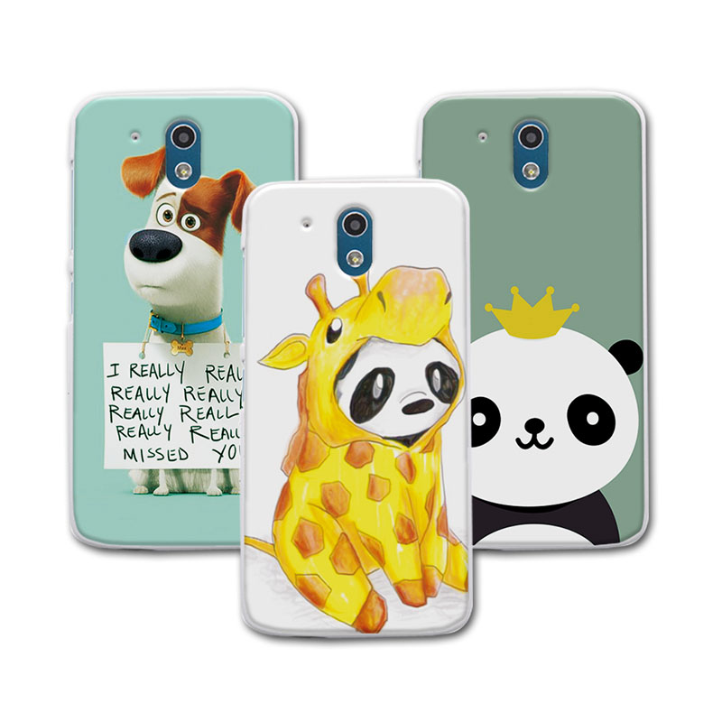 Newest Painted Dog Bear Case For HTC Desire 526 526g 326 326g Case Cover Soft Silicone For HTC Desire 326 fundas 4.7 inch + Gift