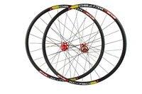 26 27.5 Wheelset 10 Speed MTB Wheel Superlight Straight Pull Cycling Road Bike Wheelset Black white