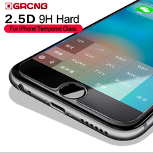 2.5D tempered glass For iphone 6 7 6s plus screen protector For iphone 7 plus Screen protection Protective film front case cover