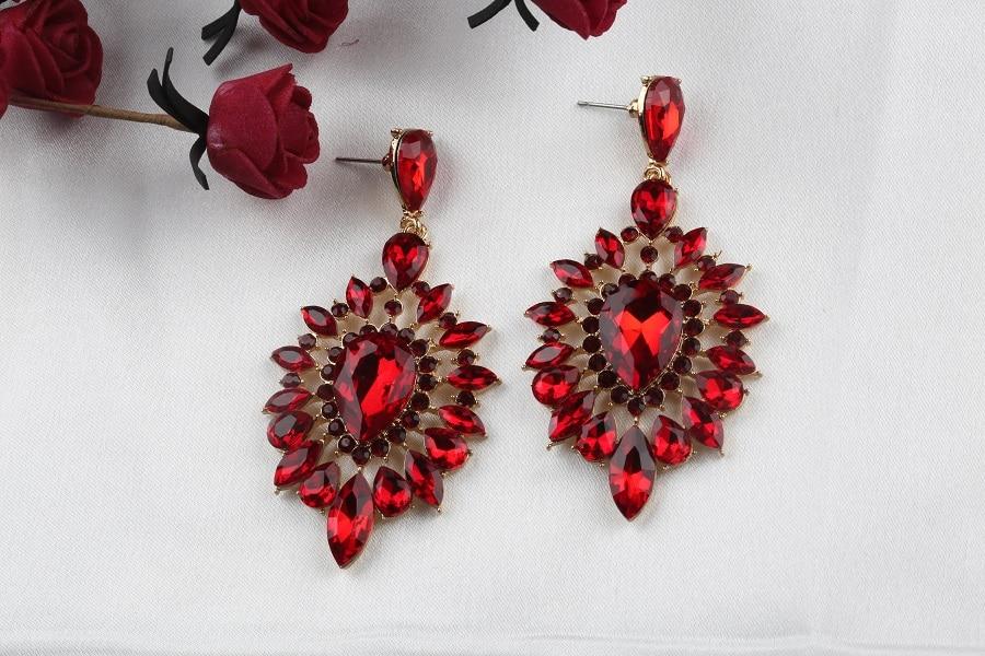 VEYO Crystal Earrings for Women Gift Luxury Drop Earrings New Arrival Wholesale 4