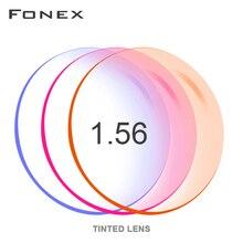 1.56 1.61 1.67 ( 0.50 ~ 8.00) prescrição de tingimento tingida CR 39 resina lentes de óculos ópticos miopia hyperopia espelho óculos de sol lente