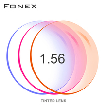 1.56 1.61 1.67 ( 0.50 ~ 8.00) tinted ย้อมสี Prescription CR 39 เรซิ่นแว่นตาเลนส์สายตาสั้นสายตายาวแว่นตากันแดดกระจกเลนส์
