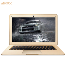 Amoudo-6C 8GB RAM+120GB SSD+500GB HDD 14inch 1920×1080 FHD Windows 7/10 Dual Disk Quad Core Ultrathin Laptop Notebook Computer