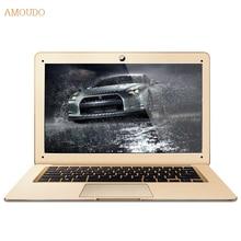 Amoudo-6c 8 ГБ ram + 120 ГБ ssd + 500 ГБ hdd 14 дюймов 1920×1080 fhd windows 7/10 двойной диск quad core ультратонкий ноутбук ноутбук