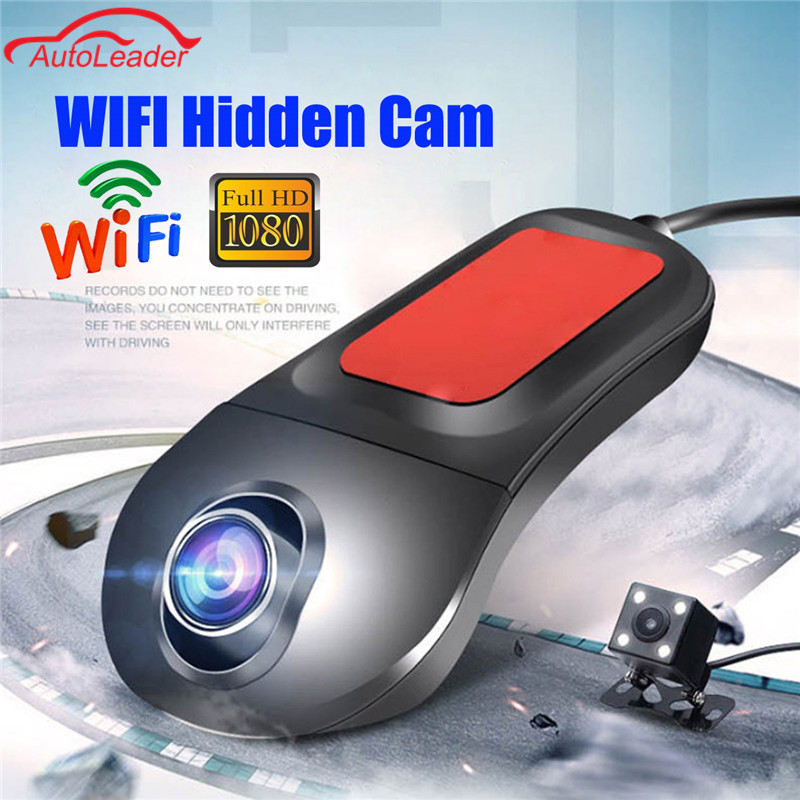 Dual Lens Car DVR Camera Video Recorder Wireless WiFi APP Manipulation FHD 1080p Novatek 96655 DVRs Dash Cam Registrator dual dash camera car dvr with gps car dvrs car camera dvr video recorder dash cam dashboard full hd 720p portable recorder dvrs
