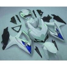 Silver INJECTION Plastic Fairing For SUZUKI GSXR600 750 GSXR 600 750 08-10 09 D