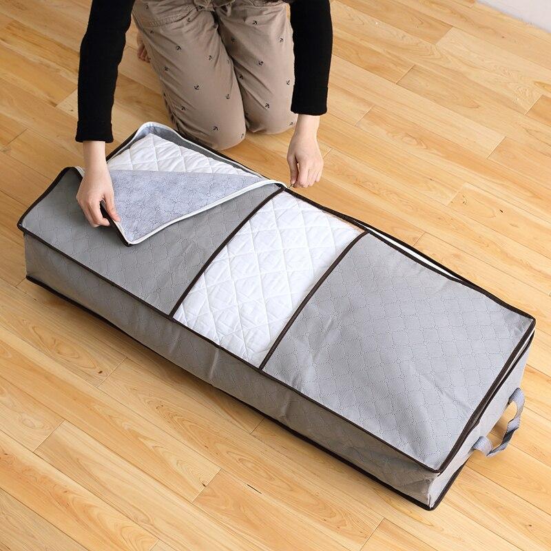 Wholesale Home Storage Foldable Bag New Waterproof Oxford Fabric Bedding Pillows Quilt storage bag clothes storage bag organizer Pakistan
