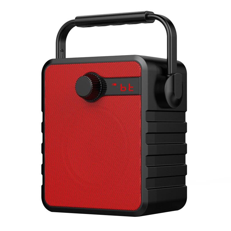 Открытый Беспроводной bluetooth-динамики Поддержка TF AUX USB музыкальный громкоговоритель сабвуфера мини Портативный мобильного телефона дома ра...