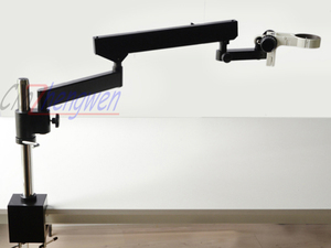 Image 1 - FYSCOPE ARTICULATING ARM PILLAR CLAMP STAND FOR STEREO MICROSCOPES+ A3