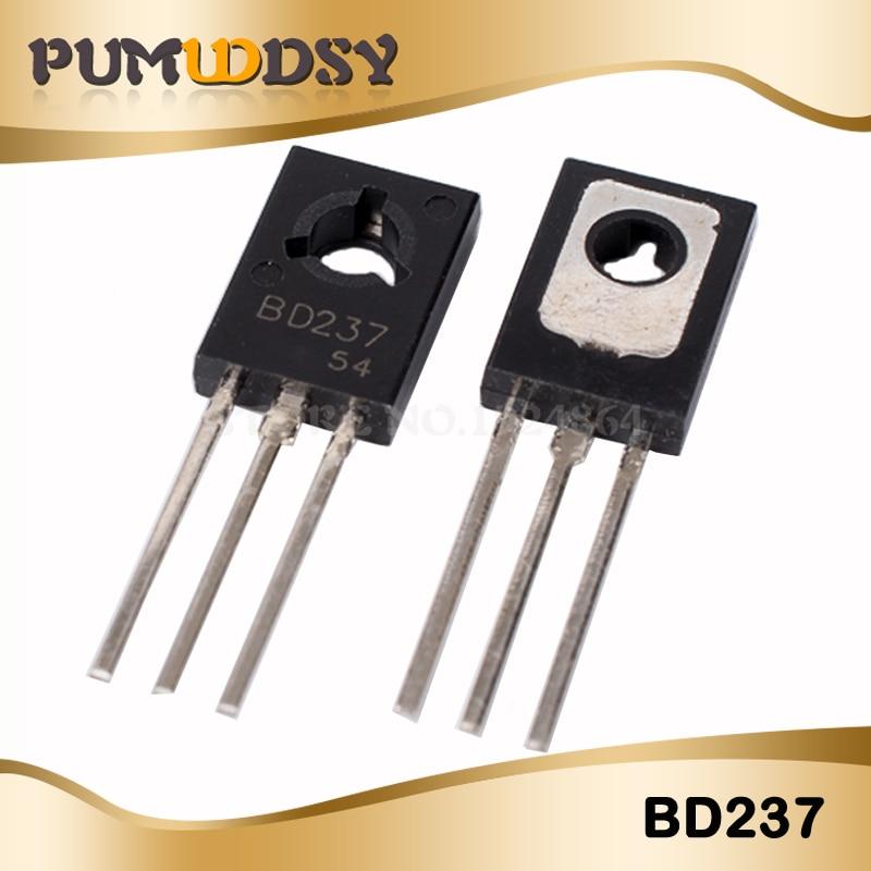 50PCS Transistor BD237 NPN 2A/100V TO-126 transistor IC50PCS Transistor BD237 NPN 2A/100V TO-126 transistor IC