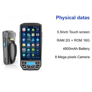 Image 2 - Android 8.1 Handheld 1D 2D Honeywell 6603 QR code PDA Barcode Scanner