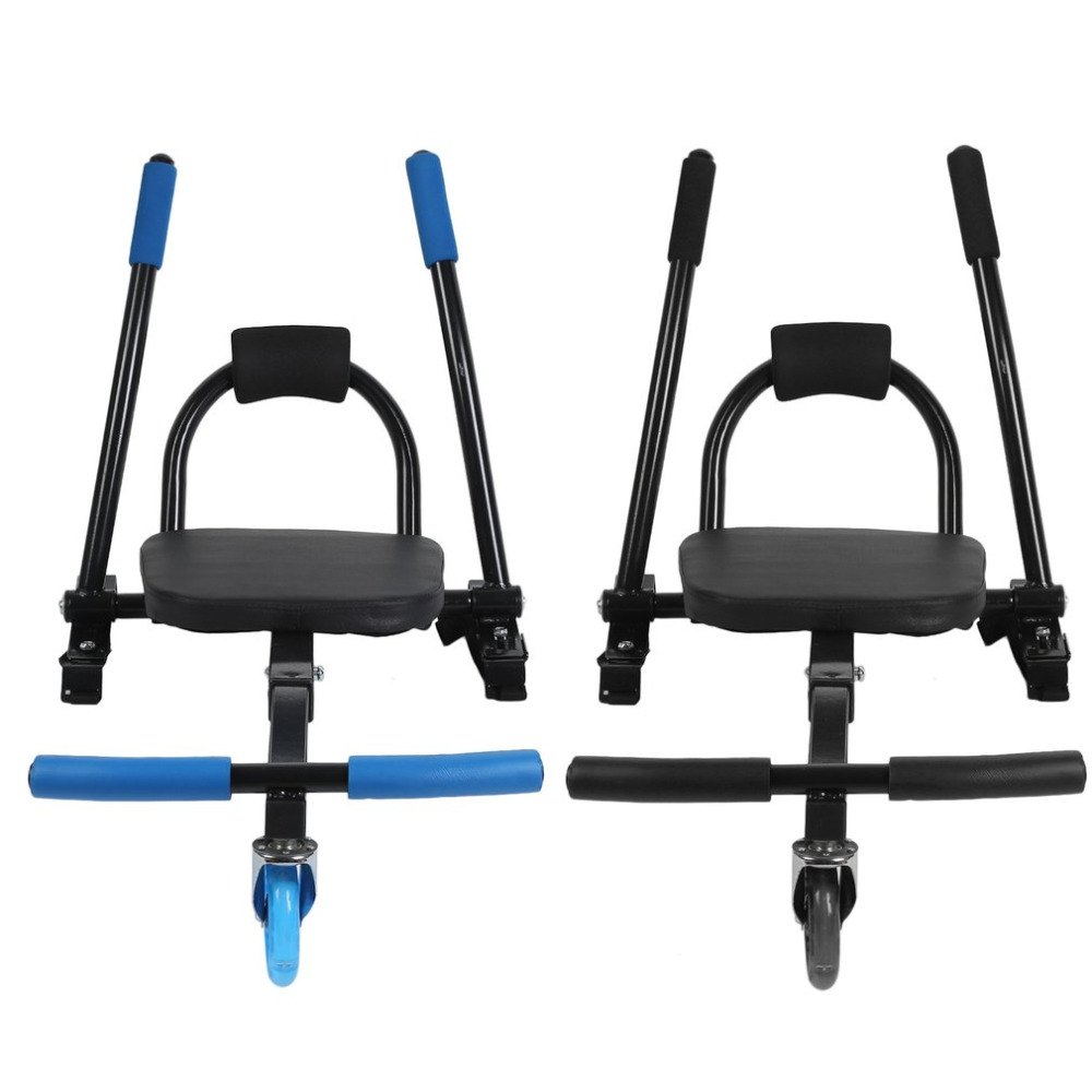 OUTAD Shock Absorber Electric Scooter Attachments Cart Seat Adjustable Go Hover Kart Hoverboard Accessories For Kids Adult Gift