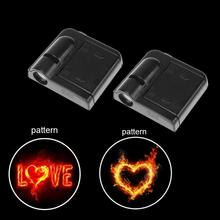 2pcs Wireless Welcome Logo LED Laser Light Projector Lamp