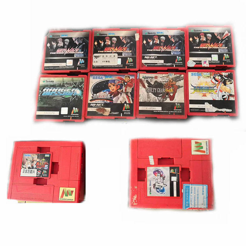 Original Authentic SNK Card Sammy Atomiswave With Mother Board Made In Japan  For Arcade Game The Rumble Fist Of North Star