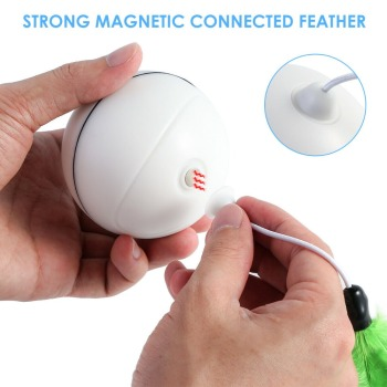 Rechargeable Rolling Ball for Cats 3