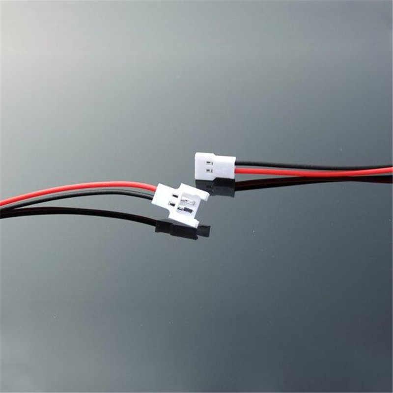 1/10/20 bricolage 1.25mm 2 broches Micro mâle connecteur femelle câble pour batterie RC LIPO FPV RC Drone quadrirotor pièces de charge