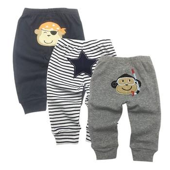 3 Pack Unisex Baby Pants Cotton Kids Harem PP Trousers Knitted Boy Girl Toddler Leggings Spring Summer Newborn Infant Clothing