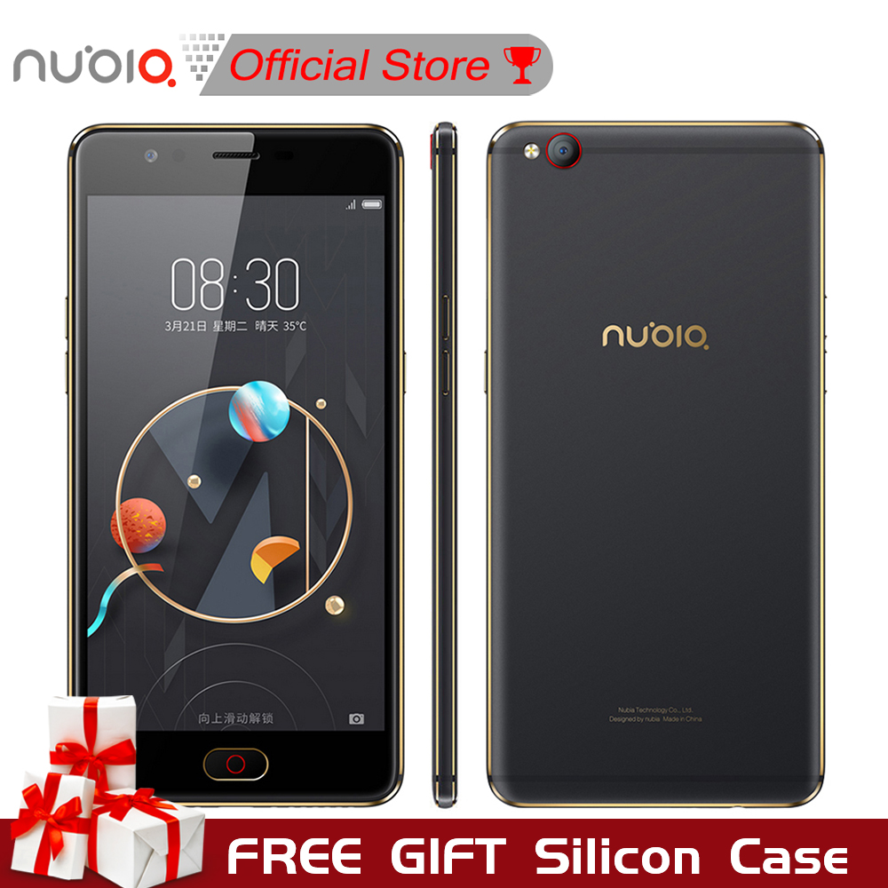 Nubia M2 5 5inch Mobile Phone Snapdragon 625 Octa Core 4GB RAM 64GB 16 0MP Dual