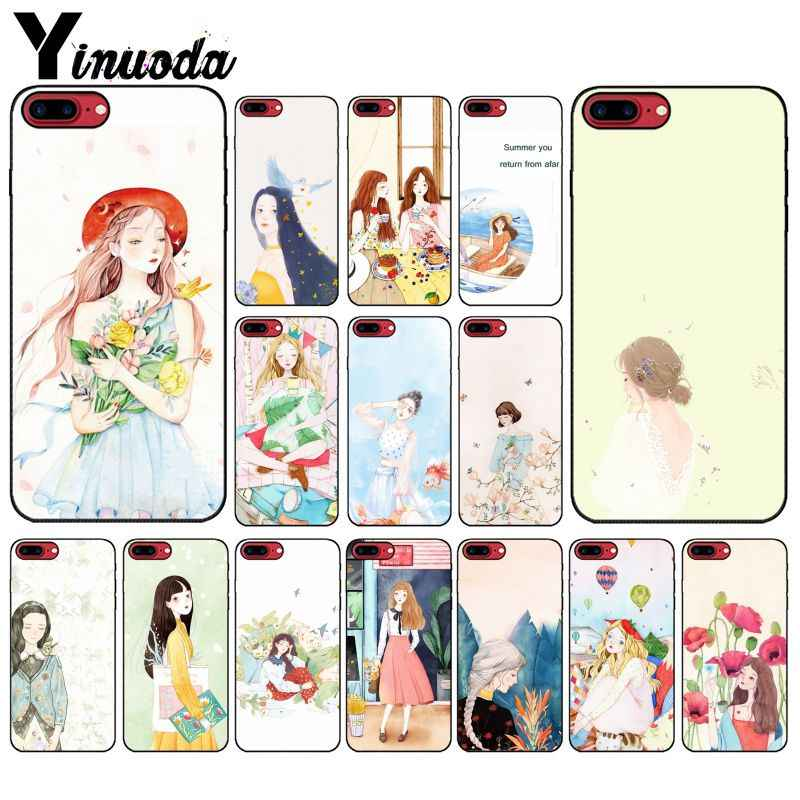 Yinuoda Summer you return from afar DIY Printing Phone Case cover Shell for Apple iPhone 8 7 6 6S Plus X XS MAX 5 5S SE XR