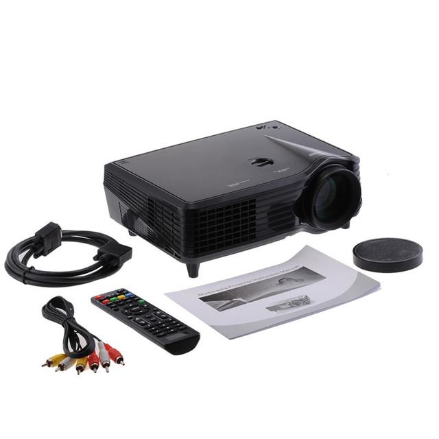 VS508 LCD Projetor de Vídeo com HDMI VGA USB Home Theater Full HD nativo 1080 P Portátil mini LED Projetor de Vídeo