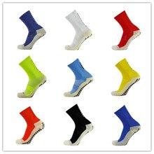 חדש כדורגל גרביים אנטי להחליק גרבי כדורגל גברים ספורט גרבי טובה באיכות כותנה Calcetines את סוגה את Trusox 9 צבעים