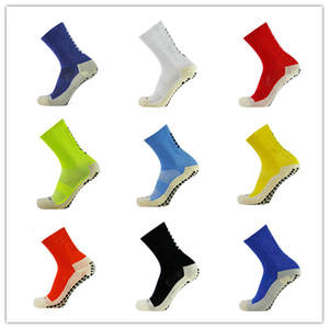 Football-Socks Trusox Anti-Slip Cotton Calcetines 9-Colors New The Soccer Men Good-Quality
