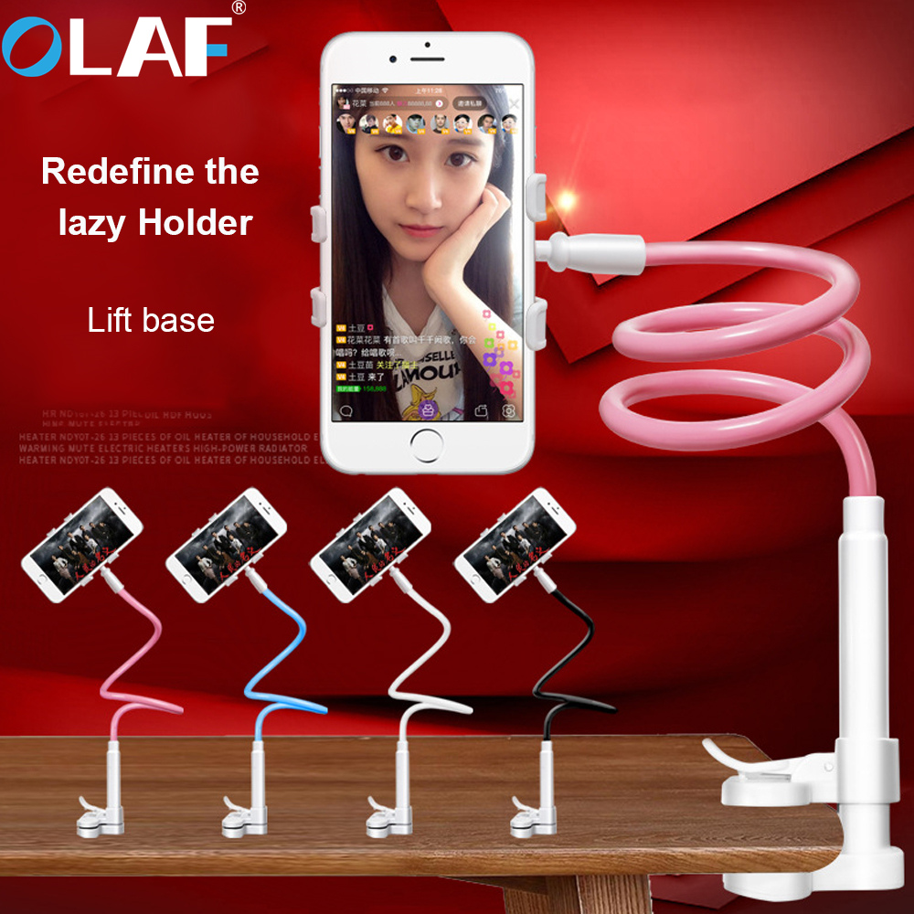 360 Rotation <font><b>Flexible</b></font> Long Arm Mobile Phone <font><b>Stand</b></font> Lazy People Bed Desktop Table Mount Holder for <font><b>iphone</b></font> for samsung huawei Newes