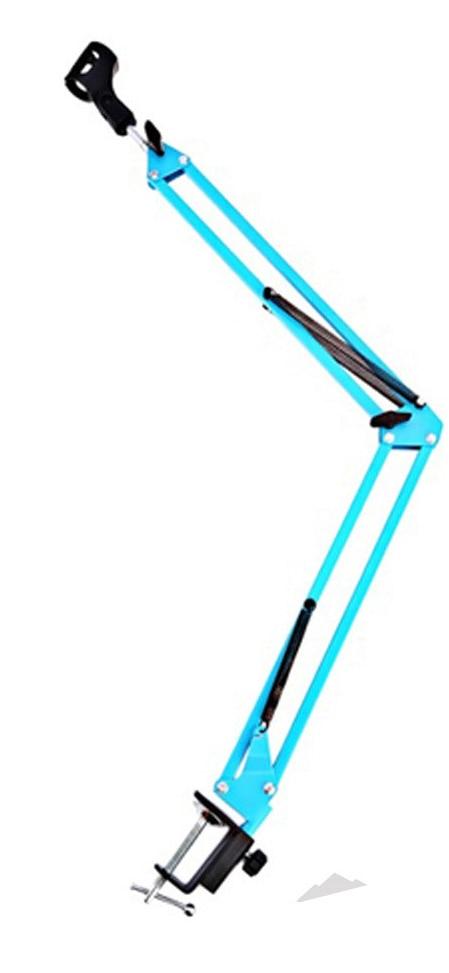 Stand microphone DEKKO NB-35 BL nb 35 rotational professional recording microphone stand holder black white