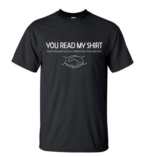 Funny T Shirts You Read My...