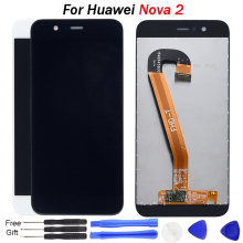 Nova 2 LCD For Huawei Nova 2 Screen Display Touch Screen Digitizer Assembly Replacement For Huawei Nova 2 Plus LCD Display все цены