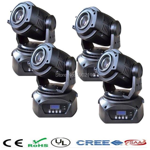 4pcs/lot Free&Fast shipping Best quality spot 90w led moving head light/dj disco equipment club show lighting led pattern lights