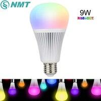 9 W Mi Lumière LED Ampoule E27 Dimmable LED Ampoule Lumière RGB + CCT (2700-6000 K) pour la Décoration Intérieure