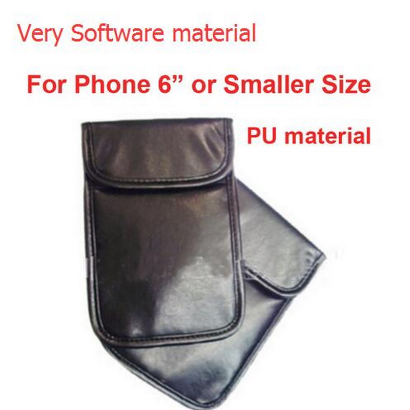 Anti-Scan Card Sleeve Very Soft PU Pouch Ok For 5