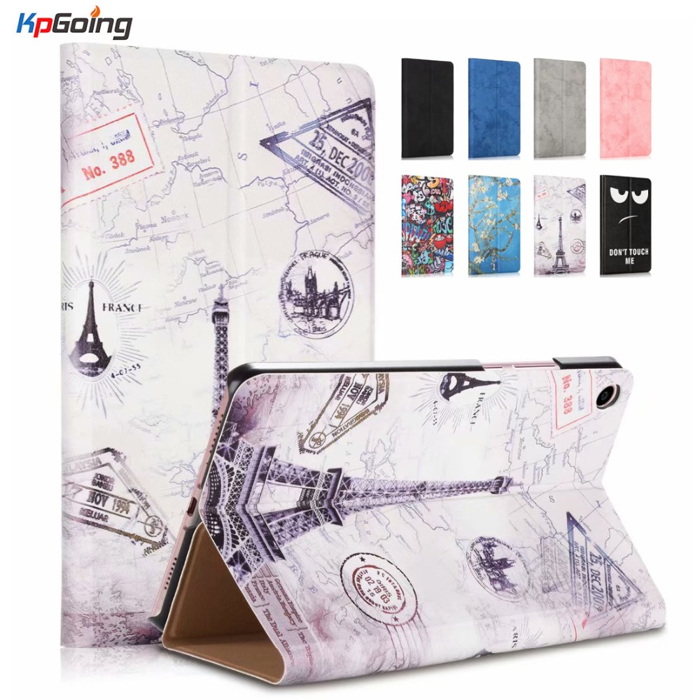 Case For Xiaomi Mi Pad 4 Plus Thin PU Leather Back 10.0 Inch Tablet Shockproof Coque Funda Cover For Xiaomi Mipad 4 Plus Coque