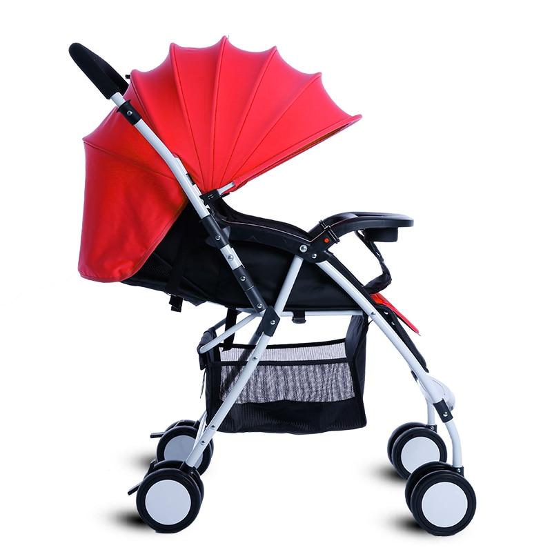 Portable Lying Down Baby Pushchair Folding Baby Stroller Infant Throne Baby Carriage Lightweight Prams For Newborn bebek arabasi
