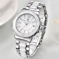 Женские часы PAGANI Топ Фирменная Новинка модные женские туфли аналоговые кварцевые часы женские Керамика наручные часы Для женщин часы Relojes