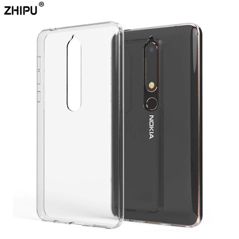 Treu Fall Für Nokia 2,1 3,1 5,1 6,1 7,1 Tpu Silicon Klar Weichen Fall Für Nokia 3,1 Plus 5,1 Plus 6,1 Plus 7,1 Plus X5 X6 Zurück Abdeckung Handytaschen & -hüllen